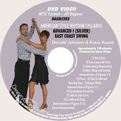 East Coast Swing (Silver) American Style Rhythm Syllabus