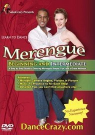 Learn to Dance Merengue, Beginning and Intermediate