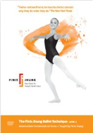 The Finis Jhung Ballet Technique Level 4: Intermediate Centerwork on Turns