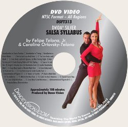 New DVIDA Silver Salsa Syllabus (EXCP Bronze)