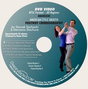 American Style Foxtrot Choreography