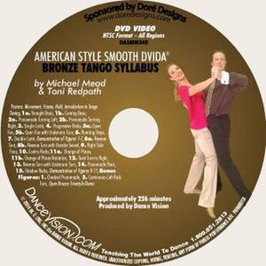 New DVIDA Bronze Tango Syllabus