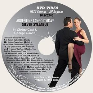 New Silver Argentine Tango Syllabus (EXCP Bronze)