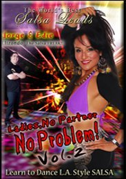 Salsa: Ladies, No Partner, No Problem! #2