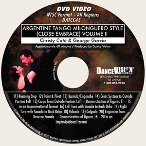 Argentine Tango Milonguero Style (Close Embrace) Vol II