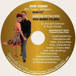 American Rhythm DVIDA Gold Mambo Syllabus