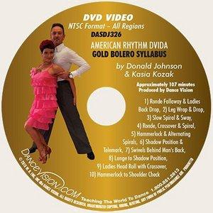 American Rhythm DVIDA Gold Bolero Syllabus