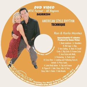 American Style Rhythm Technique - Montez (DASRM204)