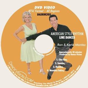 American Rhythm Line Dances - Montez (DASRM205)