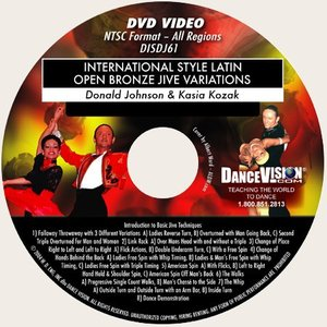 International Latin Open Bronze Jive Variations (DISDJ61)