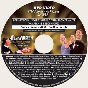 International Open Bronze Waltz Variations & Techniques (DISVV87)