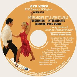 International Latin DVIDA Bronze Paso Doble Syllabus (DISCB174)