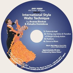 Limited Edition International Style Waltz Technique (DISAB360)