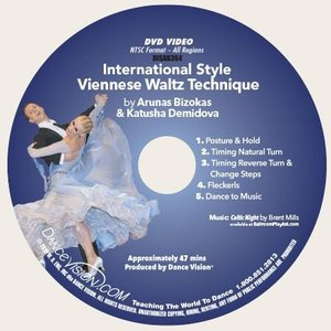 Limited Edition International Style Viennese Waltz Technique (DISAB364)
