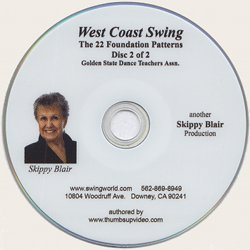 West Coast Swing: 22 Foundation Patterns - Disc 2
