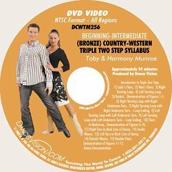 Country-Western Triple Two Step (Bronze) Syllabus