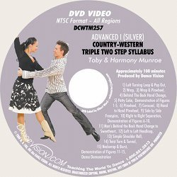 Country-Western Triple Two Step (Silver) Syllabus