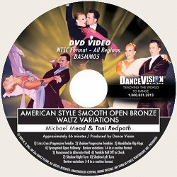 Open Bronze Waltz Variations, American Style Smooth