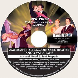 Open Bronze Tango Variations, American Style Smooth