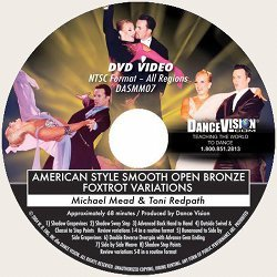 Open Bronze Foxtrot Variations, American Style Smooth