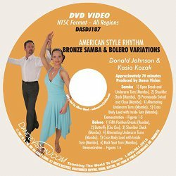 Samba & Bolero Variations (Bronze) American Style Rhythm Bronze