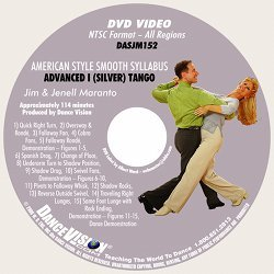 Tango (Silver) American Style Smooth Syllabus
