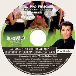 Cha Cha (Bronze) American Style Rhythm (Ron Montez)