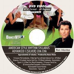 Cha Cha (Silver) American Style Rhythm (Ron Montez)