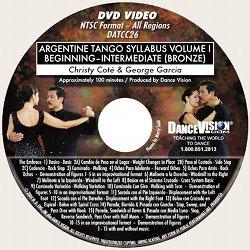 Argentine Tango (Bronze) Syllabus