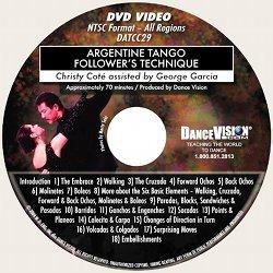 Argentine Tango Followers Technique