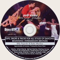 Dips, Drops & Tricks (Bronze) for all Styles of Dancing
