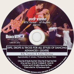 Dips, Drops & Lifts (Silver) for all Styles of Dancing