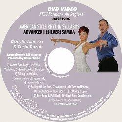 Samba (Silver) American Style Rhythm Syllabus