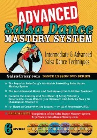 SalsaCrazy's Advanced Salsa Dance Series: Disc 3