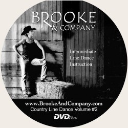 Intermediate Country Line Dance - Brooke & Company