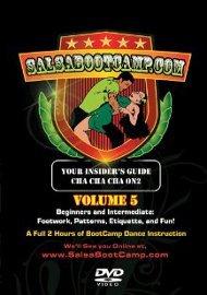 Salsa Boot Camp #5: Cha Cha Dancing (on 2) (EXCP Bronze)