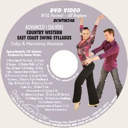 Country-Western East Coast Swing (Silver) Syllabus