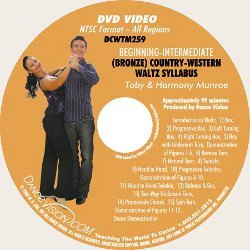 Country-Western Waltz (Bronze) Syllabus