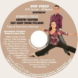 Country-Western East Coast Swing (Gold) Syllabus
