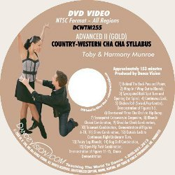 Country Western Cha Cha (Gold) Syllabus