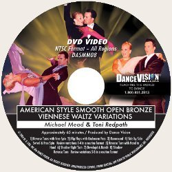 Open Bronze Viennese Waltz Variations, American Style Smooth