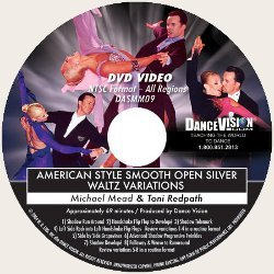 Open Silver Waltz Variations, American Style Smooth