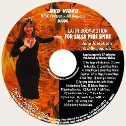 Latin Body Motion for Salsa Plus Spins