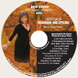 Ladies Salsa Technique, Styling & Shines