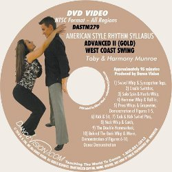 West Coast Swing (Gold) Syllabus
