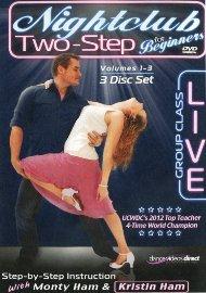 "Nightclub 2-Step ""Live"" Beginners - Disc 1"