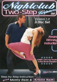 Nightclub 2-Step for Beginners - Disc 1
