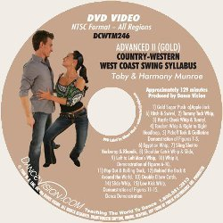 Country-Western West Coast Swing (Gold) *EXCP Bronze
