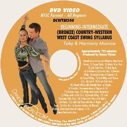 Country-Western West Coast Swing (Bronze) *EXCP Bronze